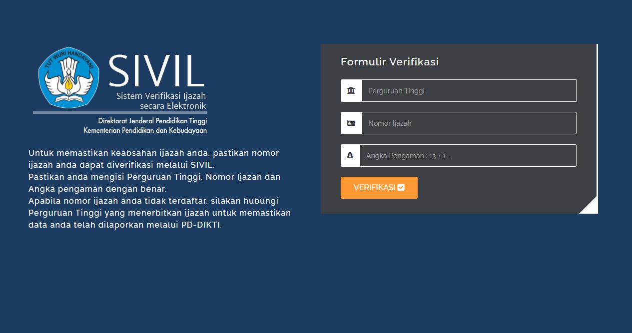 Verifikasi Sivil